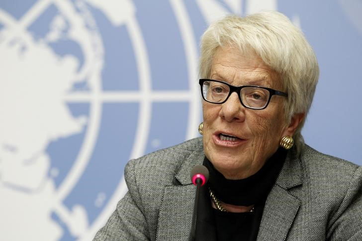 Syria Investigator Del Ponte Quits UN Inquiry Commission