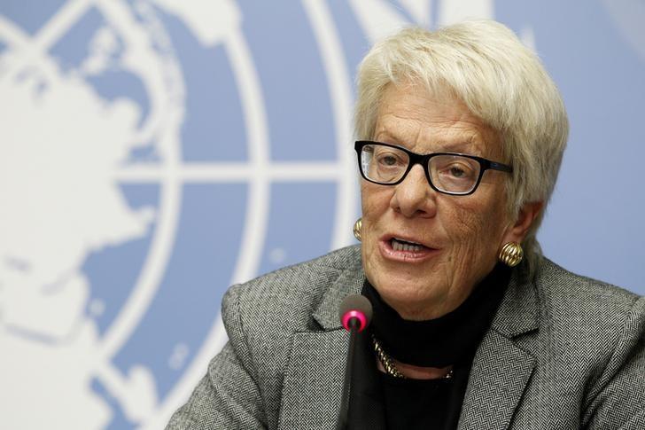 Syria Investigator Del Ponte Quits UN Inquiry Commission