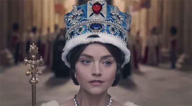 A still from British drama series Victoria. Credit: Twitter