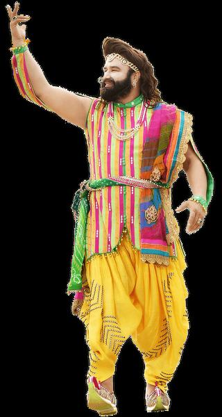 Gurmeet Ram Rahim Singh. Credit: www.saintdrmsginsan.me