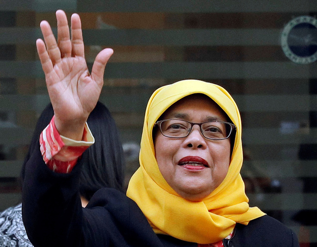 Halimah Yacob Formally Elected as Singapore's First Woman President