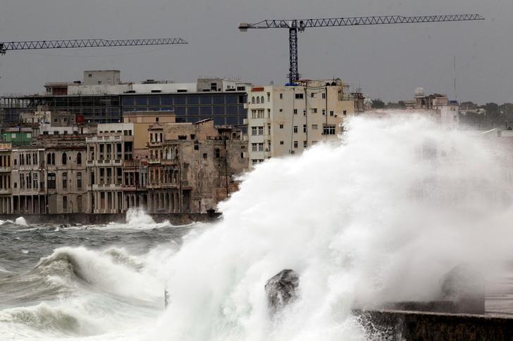 Havana Braces for Floods After Irma Rakes Cuban Keys