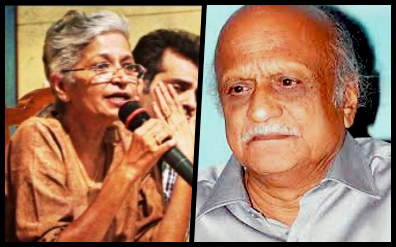 Probe Finds Significant Similarities in Gauri Lankesh and M.M. Kalburgi Murders
