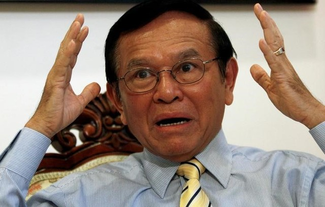 Cambodian Opposition Leader Kem Sokha Charged with Treason