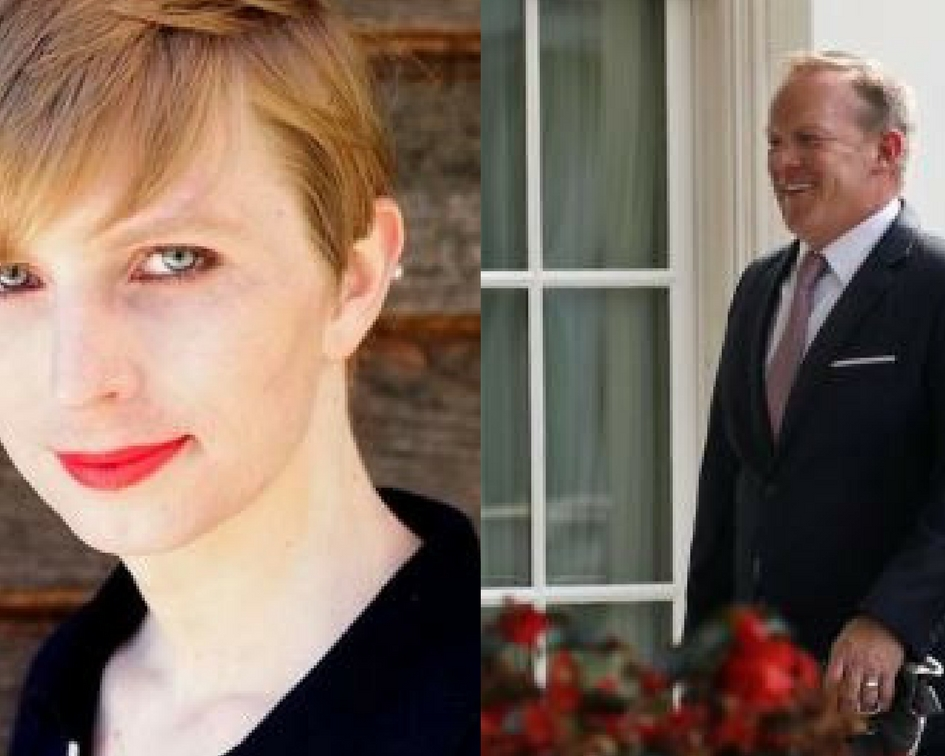 Chelsea Manning, Sean Spicer Named Visitors Fellows at Harvard