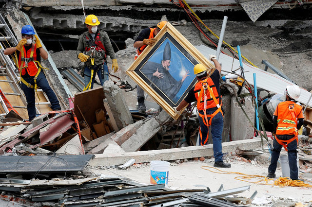 Mexico Shaken by Quake Aftershock, Volcanic Ash Adds to Fear