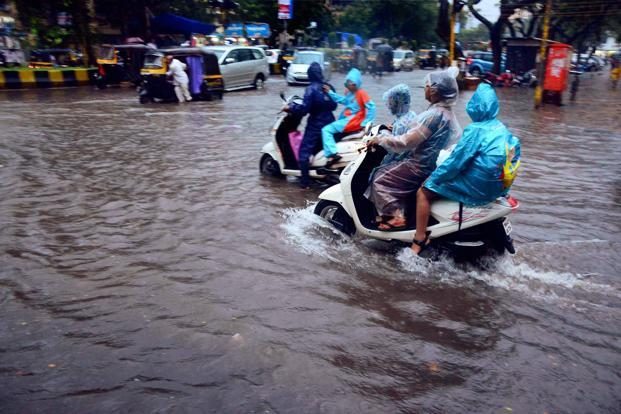 Heavy Rains Lash Mumbai Again, Air and Road Services Disrupted