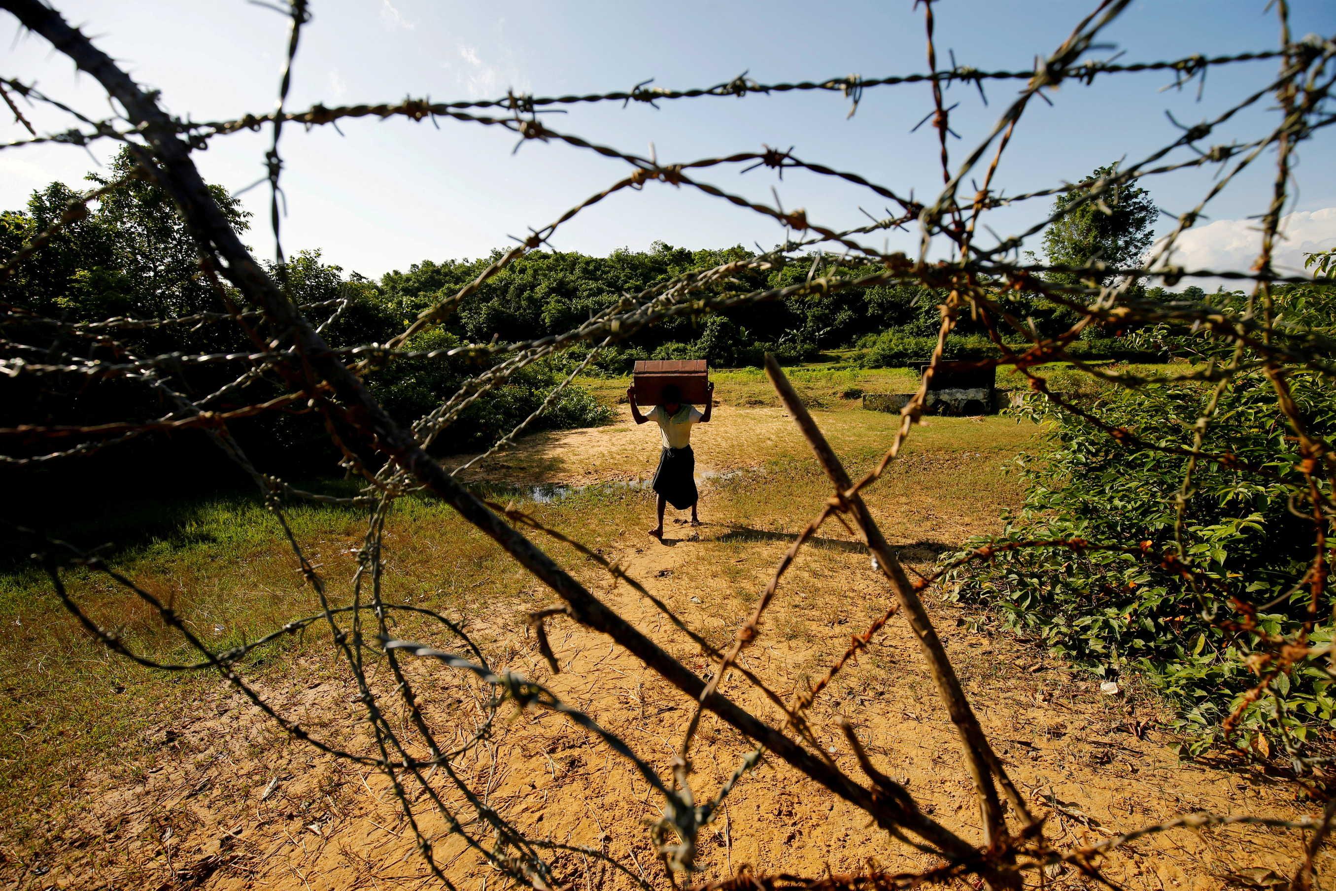 Myanmar Laying Landmines Along Border With Bangladesh