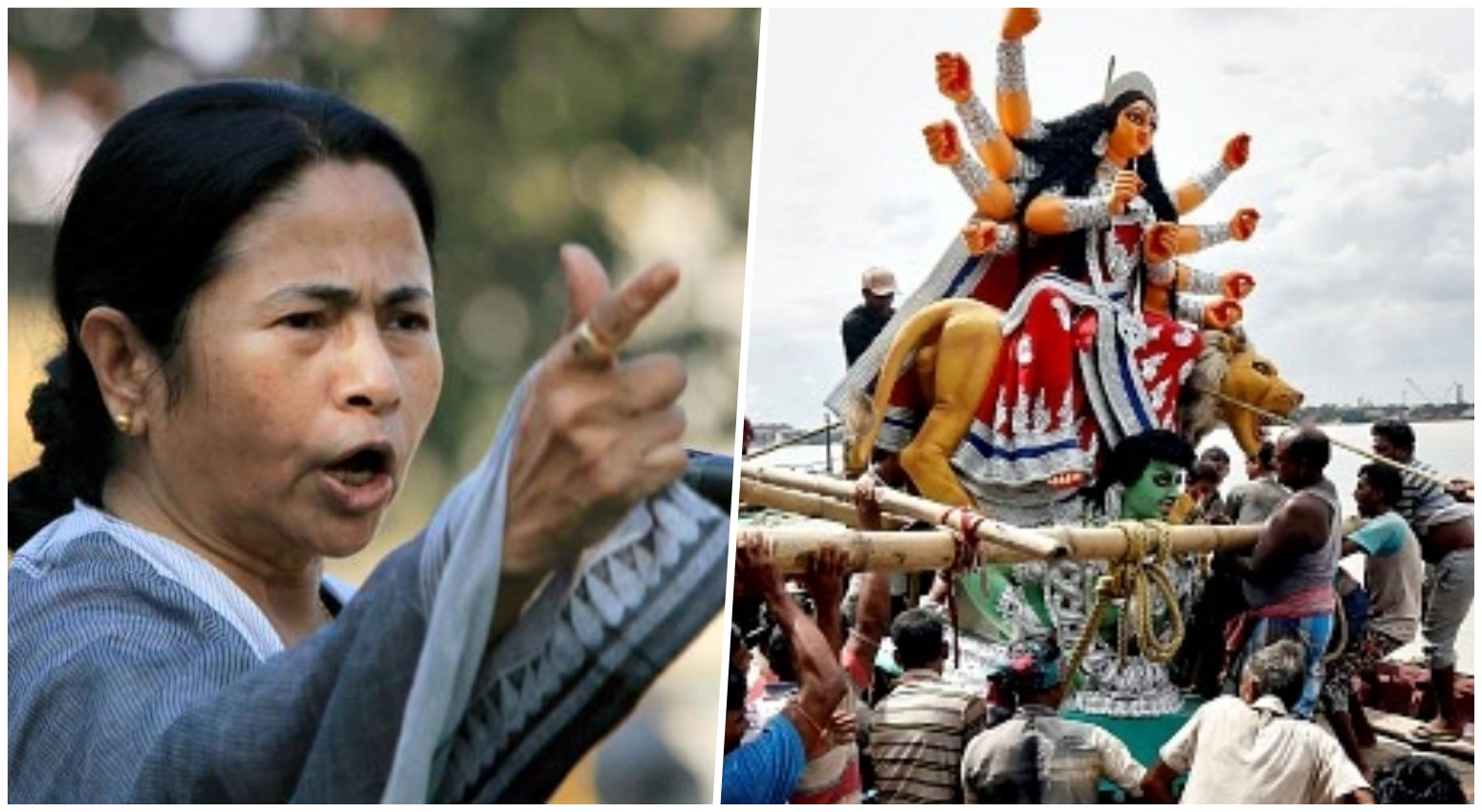 High Court Cancels Mamata Banerjee's Order On Durga Puja Idol Immersion