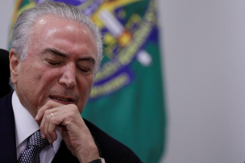 Members of Temer's Party Charged With Criminal Organisation by Brazilian Prosecutor