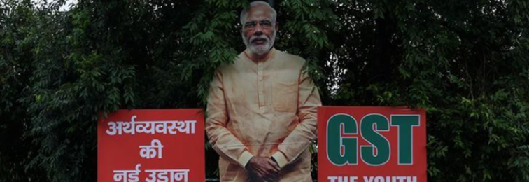 Modi Government Eyes Spending Cuts as Glitches in GST Hit Revenue