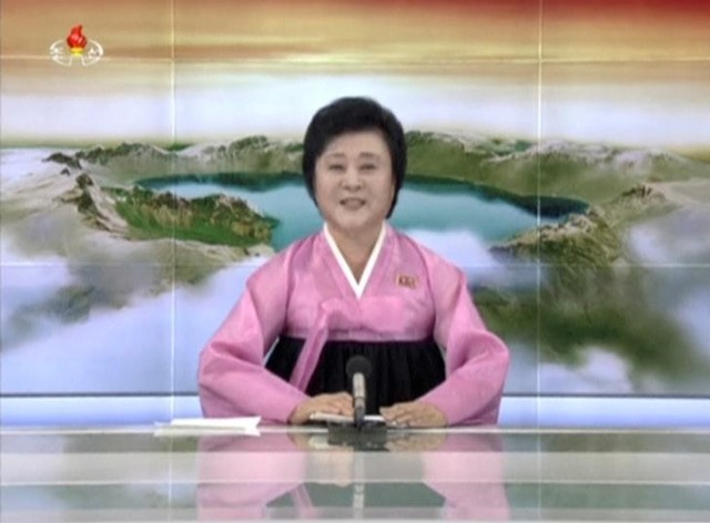 North Korean TV Presenter Back in Limelight for Nuclear Test