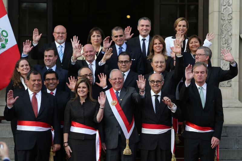 New Cabinet in Peru, Vice President Aaroz to Be Prime Minister