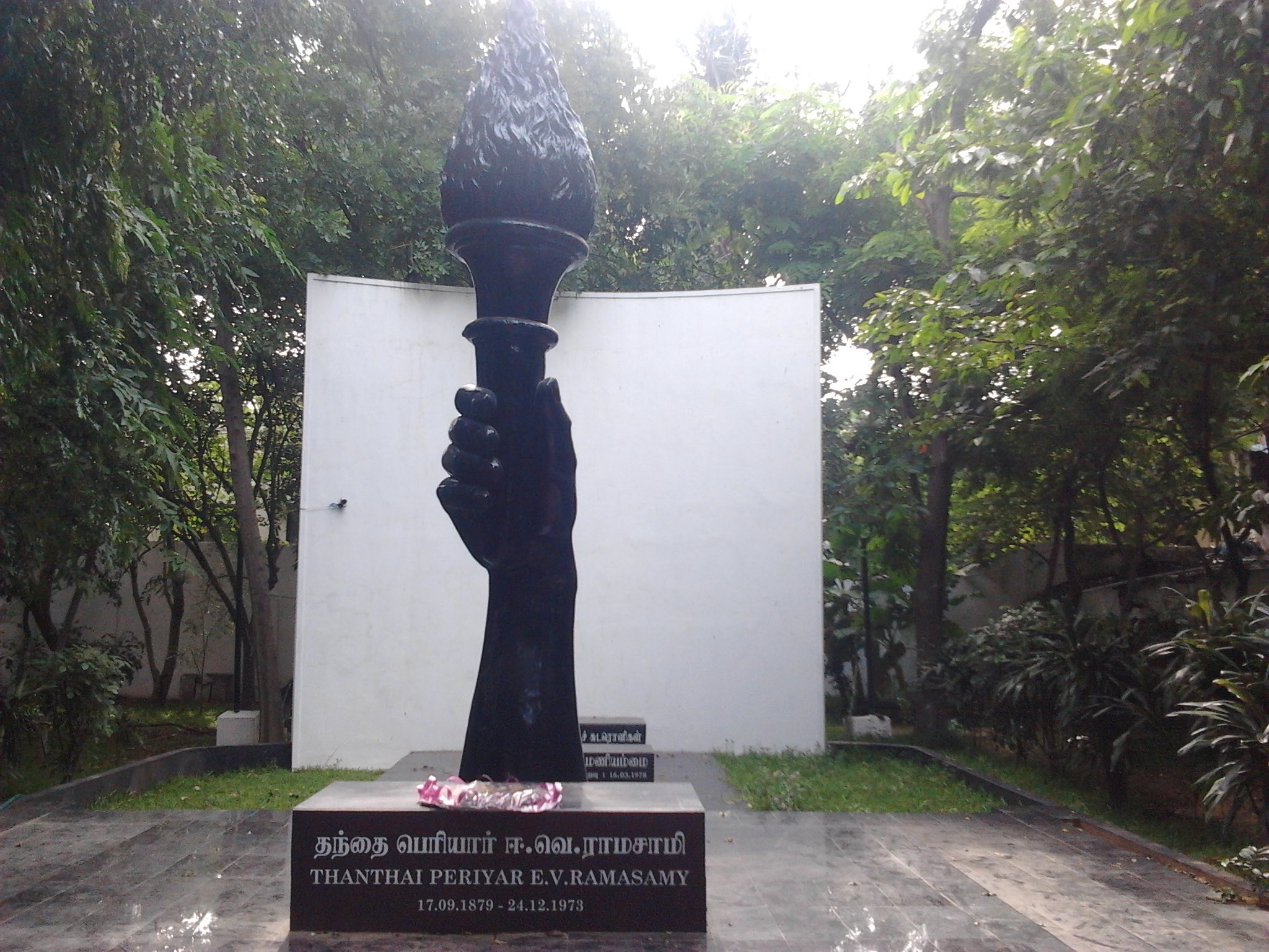 The Periyar memorial in Chennai. Credit: Wikimedia Commons