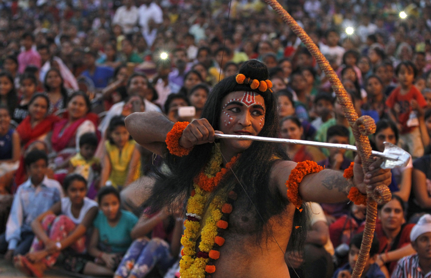In Ayodhya, the Ramleela Tradition Is Losing Its Mass Appeal