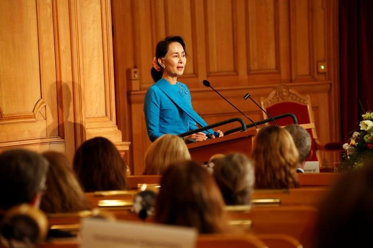 Myanmar Government Trying to Protect Everyone in Rakhine State, Says Suu Kyi