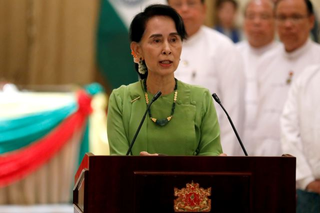 Suu Kyi to Skip UN General Assembly Amid Rohingya Crisis