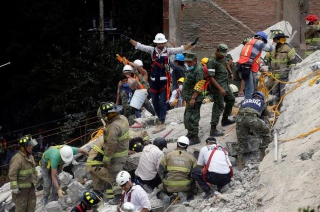Earthquake of 7.1 Magnitude Near Mexico City Leaves at Least 226 Dead