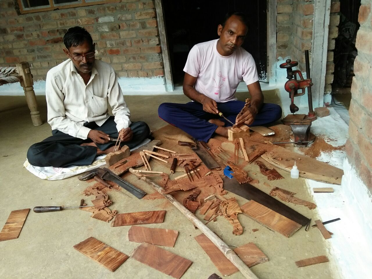 The cost of GST non-compliance is doubled when the formal economy refuses to buy from the local crafts industry. Credit: Meeta Mastani