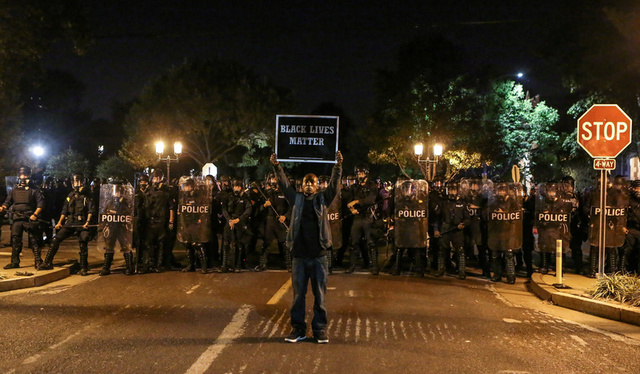 Riot Police Break Up St. Louis Protests Over Officer's Acquittal