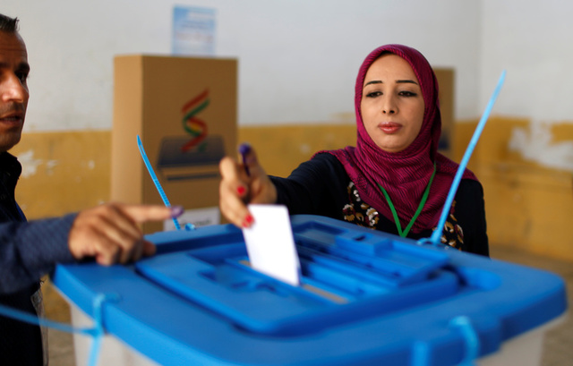 Shrugging Off Threats, Iraqi Kurds Vote in Historic Independence Referendum