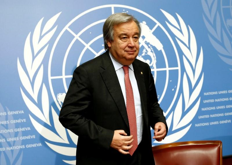 Ahead of General Assembly, Antonio Guterres Calls on Myanmar to End Violence