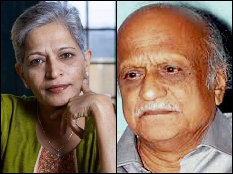 Forensic Analysis Finds Same Gun Used to Kill Gauri Lankesh and M.M. Kalburgi