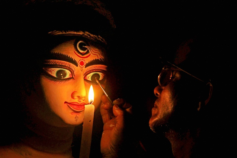 The Time Machine: Durga the Demoness and the Protector