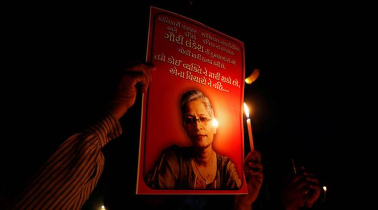 One Arrested in Gauri Lankesh Murder Case