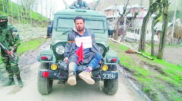 Used as 'Human Shield' in 2017, Farooq Ahmad Dar Now Posted on Election Duty