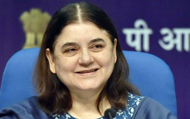 Union minister of women and child development. Credit: PTI