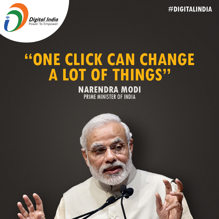 narendra modi, digital india