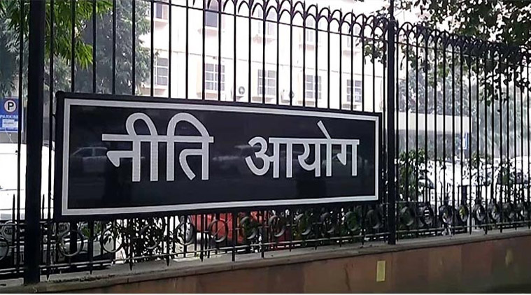 Where Gandhi differs with NITI Aayog is on the issue of cash versus kind. Credit: PTI