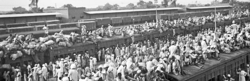 Why the Partition Is Not an Event of the Past
