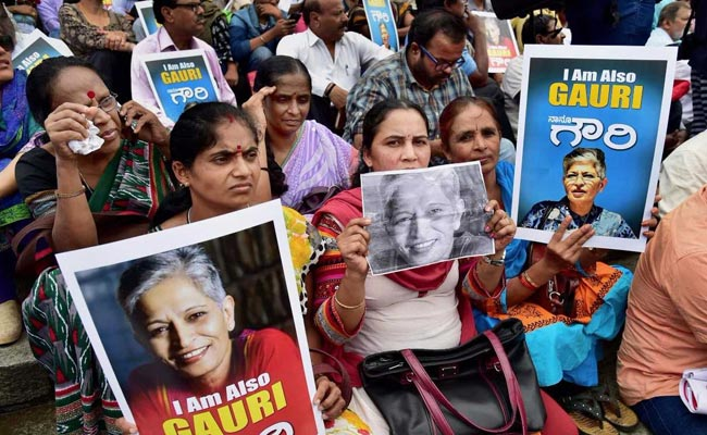 Five Linked to Right-Wing Sanatan Sanstha Among Key Suspects in Gauri Lankesh's Murder