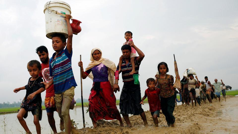 Hindus From Myanmar Join Muslim Rohingyas in Seeking Refuge in Bangladesh
