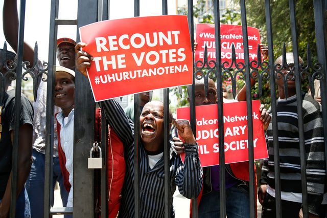 Kenya's Election Board Faces Criticism From Supreme Court on Poll Verdict