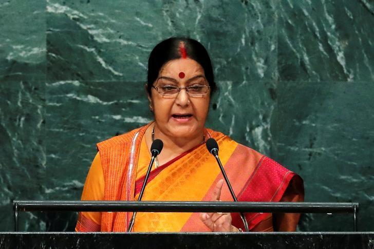 Sushma Swaraj Arrives in New York to Attend Annual UN General Assembly Meet