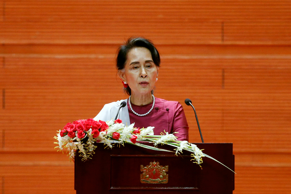 After Weeks of Silence, Aung San Suu Kyi Condemns All Rights Violations in Rakhine State
