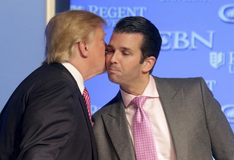 Donald Trump Jr. Met Russian Lawyer for Damaging Information on Clinton