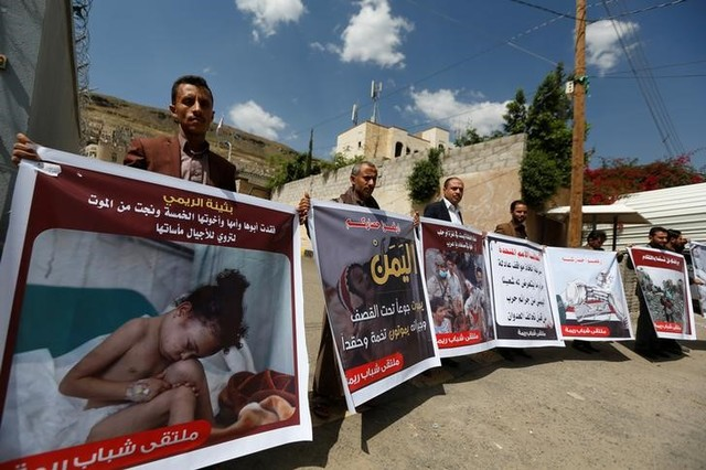 'Saudi-Led Air Strikes in Yemen Are War Crimes', Says Human Rights Watch