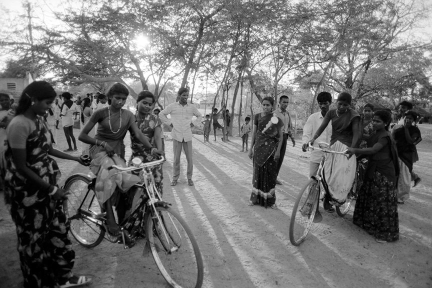 Cycling as a Women's Movement in Rural Tamil Nadu
