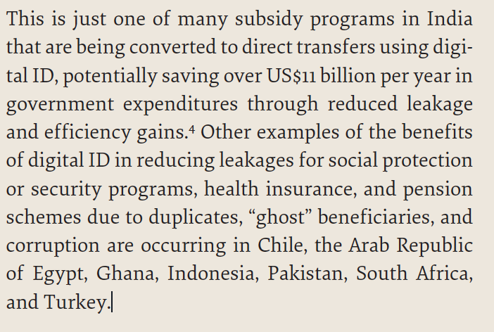 A clipping of the World Bank's 2016 report. Credit: The Wire, World Bank