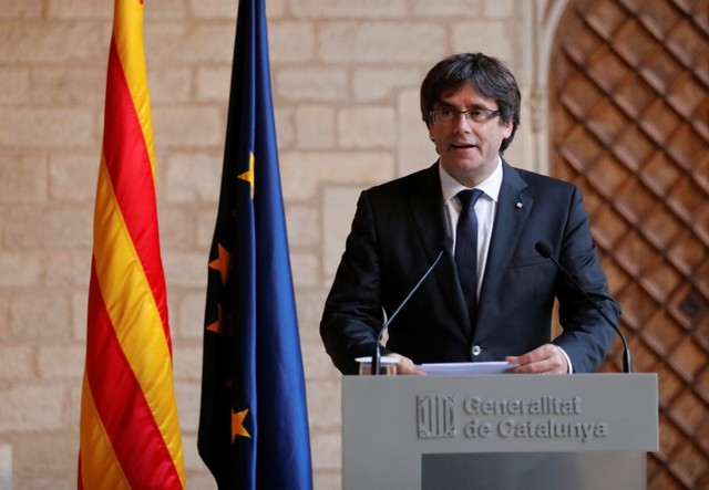 Catalonia's Leader Rules out Snap Election, Crisis Deepens