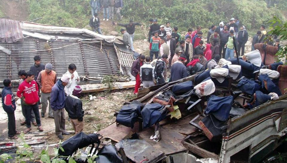 Nepal: At Least 31 Killed as Bus Plunges Into River
