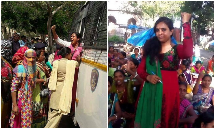 ASHA workers protest at Vadodara