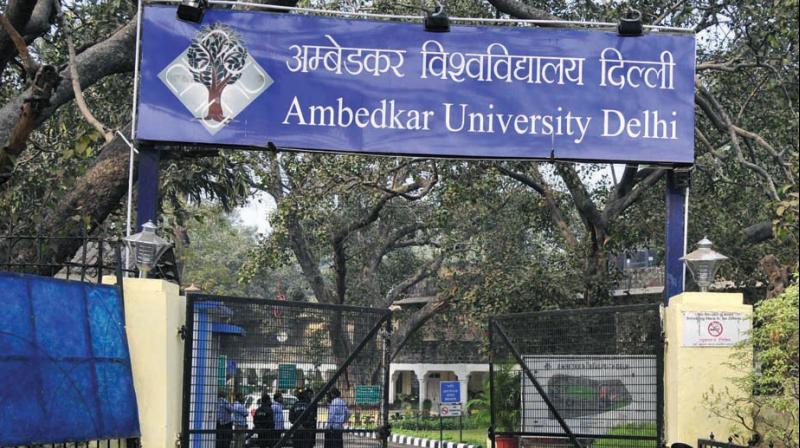 Ambedkar University, Delhi. Credit: AUD