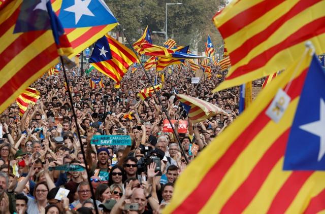 Spain Sacks Catalan Government After Independence Declaration