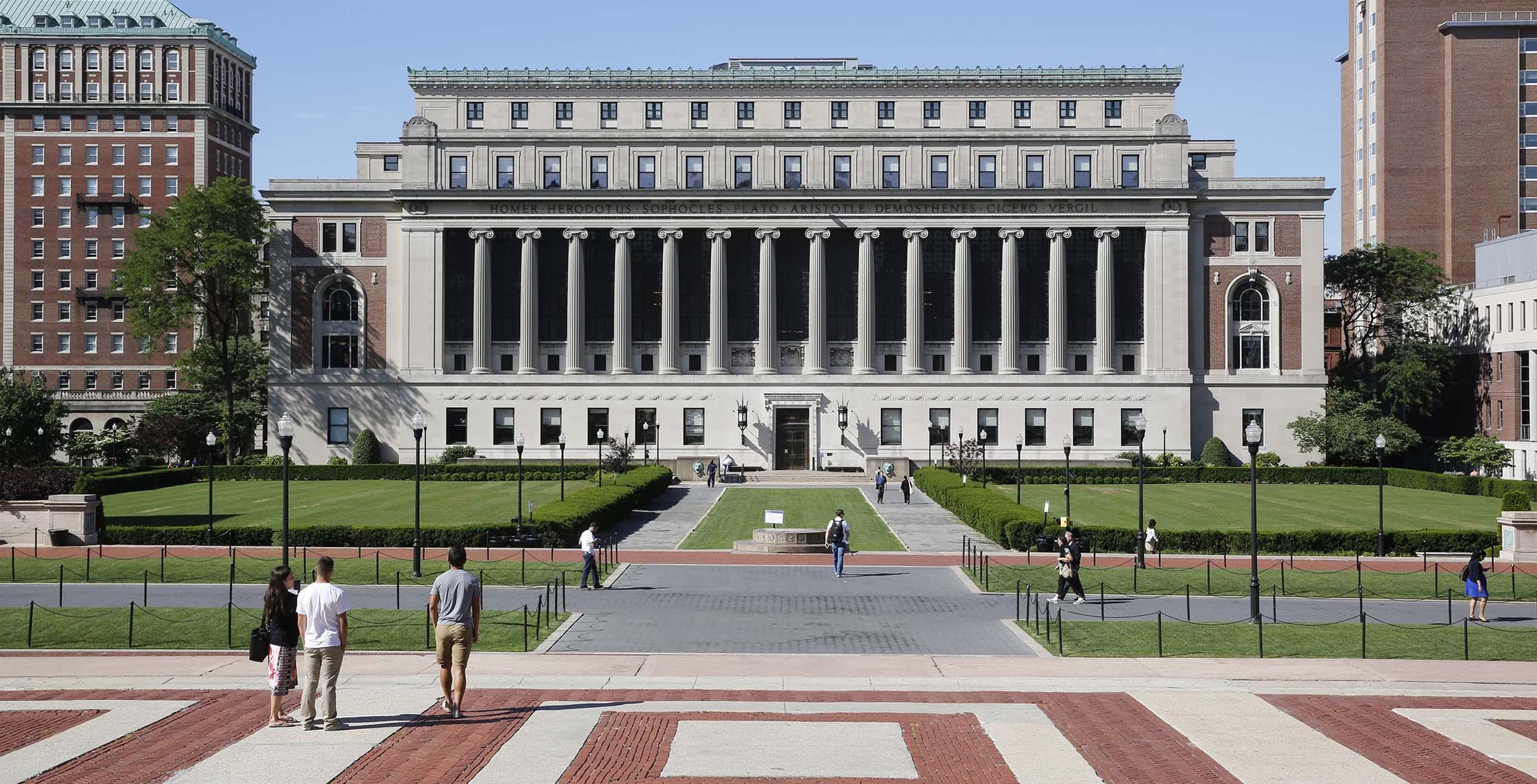 Columbia University. Credit: columbia.edu