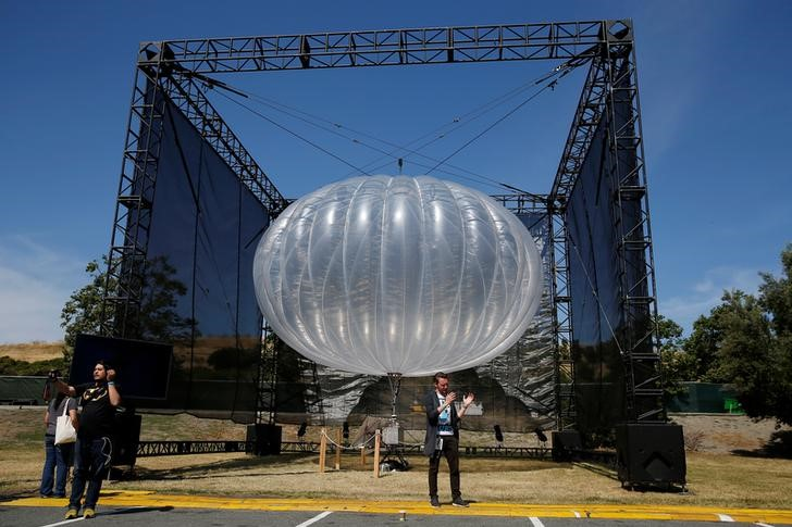 Google to Provide Puerto Rico With Cell Service Using Balloons